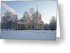 Finland Church Greeting Card
