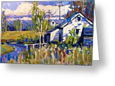 Finn Slough 2 Greeting Card