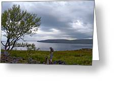 Finnmark Panorama Greeting Card