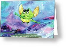 Finn's Giant Leap Greeting Card