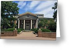 Roanoke College - Fintel Library Greeting Card