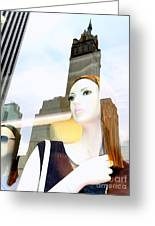 Fiona On 58th St Greeting Card