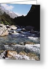 Fiordlands National Park Greeting Card