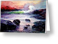 Fire And Water 1.0  Greeting Card