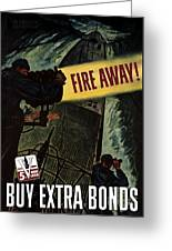Fire Away Greeting Card