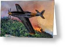 Fire Boss - Oil Greeting Card