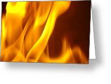 Fire Desire Mesmerized San Francisco Autumn Warmth Baslee Troutman Greeting Card