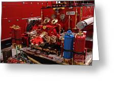 Fire Engine Of Old 17 Greeting Card