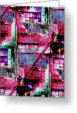 Fire Escape 3 Greeting Card