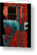 Fire Escape 7 Greeting Card