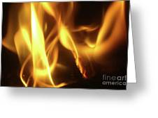 Fire  Feuer Greeting Card