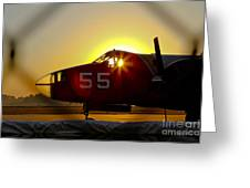 Fire Fighting Aircraft Greeting Card