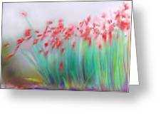 Fire-flowers-spring Greeting Card