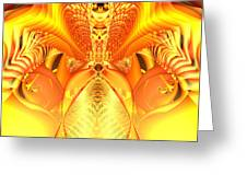 Fire Goddess Greeting Card