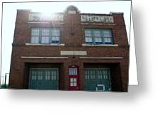 Fire House Greeting Card