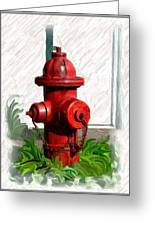 Fire Hydren Greeting Card