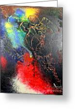 Fire Of Passion Greeting Card