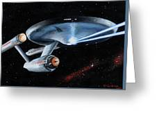 Fire Phasers Greeting Card