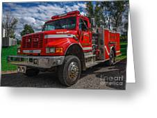 Fire Rescue Greeting Card