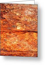 Fire Rock Greeting Card