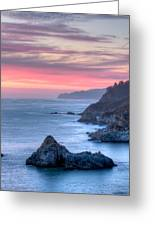 Fire Sky Greeting Card by Michael Breshears