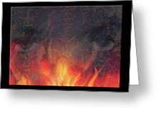 Fire Soul Greeting Card