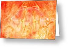 Fire Spirit Greeting Card