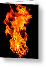 Fire The 3rd Element Michigan Greeting Card