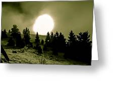 Fireball Ascension Greeting Card