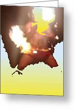 Firedance Greeting Card