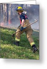 Firefighter 2901 Greeting Card