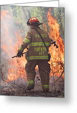 Firefighter 967 Greeting Card
