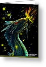 Fireflies Greeting Card