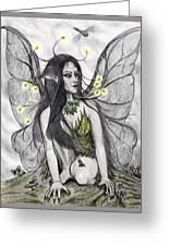 Firefly Faery Greeting Card