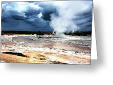 Firehole Lake 2 Greeting Card