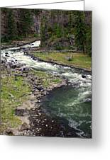 Firehole River 2 Greeting Card