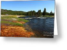 Firehole River Colors Greeting Card
