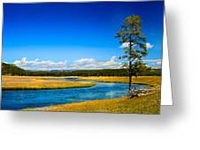 Firehole River Greeting Card