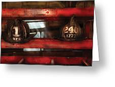 Fireman - A Salute To The Firefighter Greeting Card