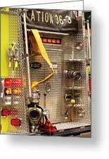Fireman - Station - 36-3 Greeting Card