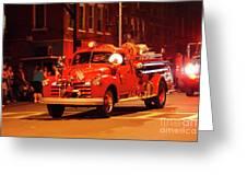 Fireman's Parade No. 3 Greeting Card