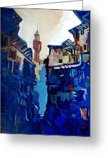 Firenze Street Study Greeting Card