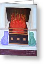 Fireside With You Greeting Card