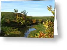 Firesteel Creek Autumn Greeting Card