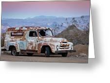 Firestone Truck Greeting Card