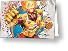 Firestorm Greeting Card