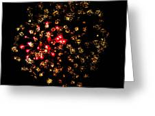 Firework Colors Greeting Card
