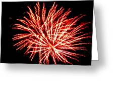 Firework Fireball Greeting Card