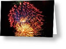 Firework Jewel Blast Greeting Card