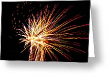 Firework Symphony Greeting Card